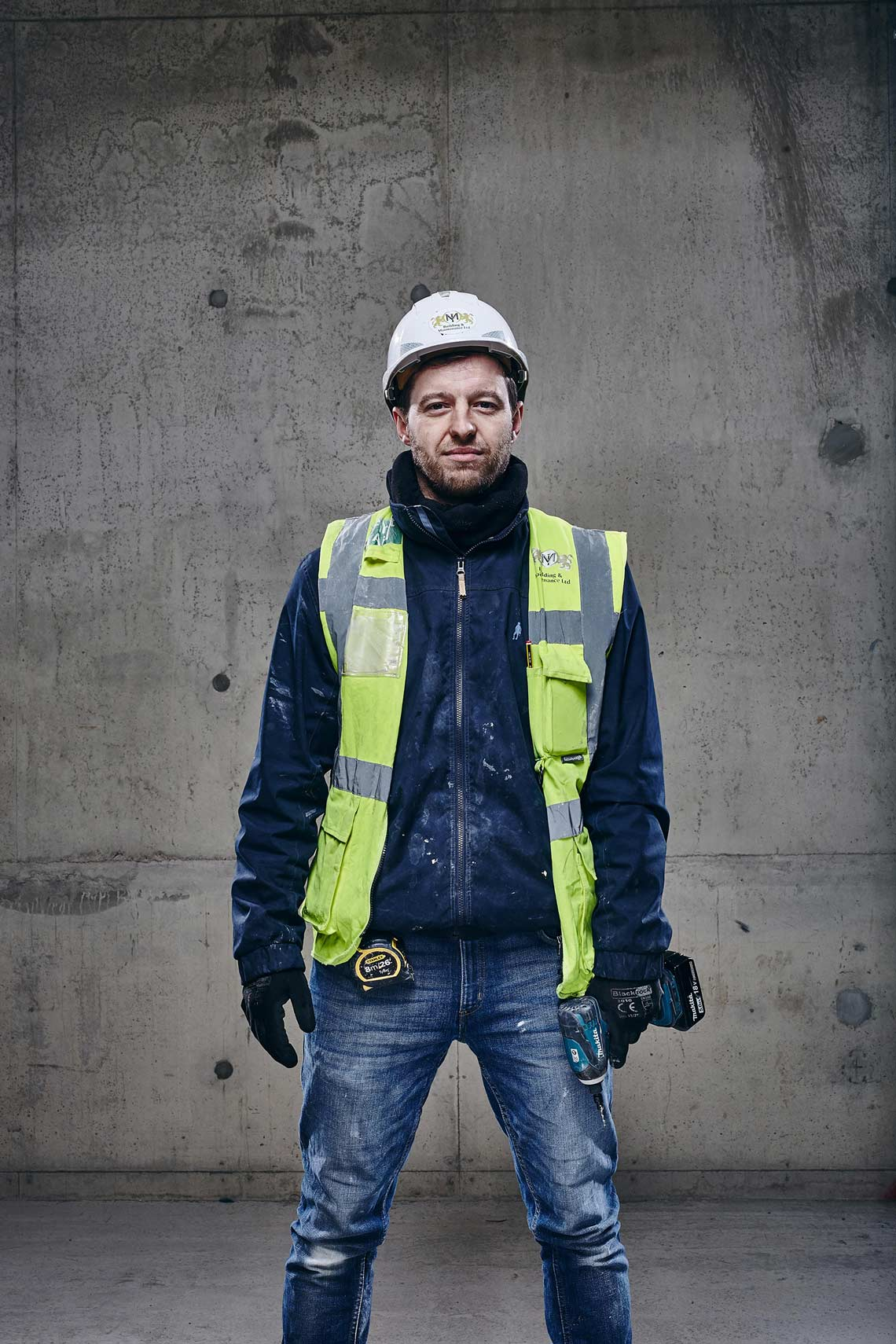 Building Site Construction Worker
