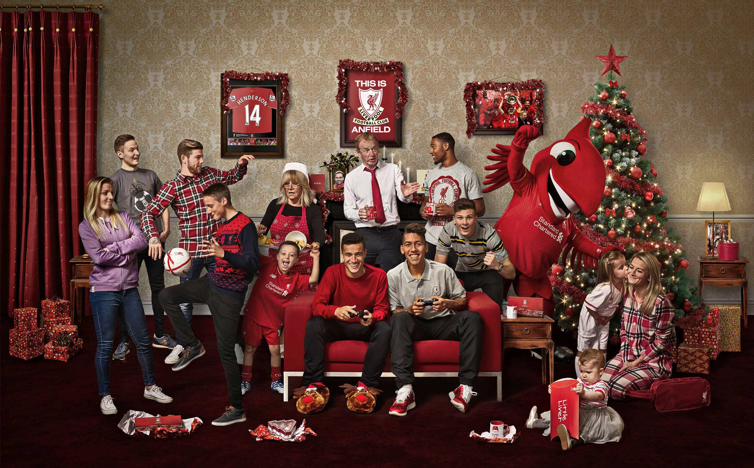 Liverpool FC Christmas membership campaign