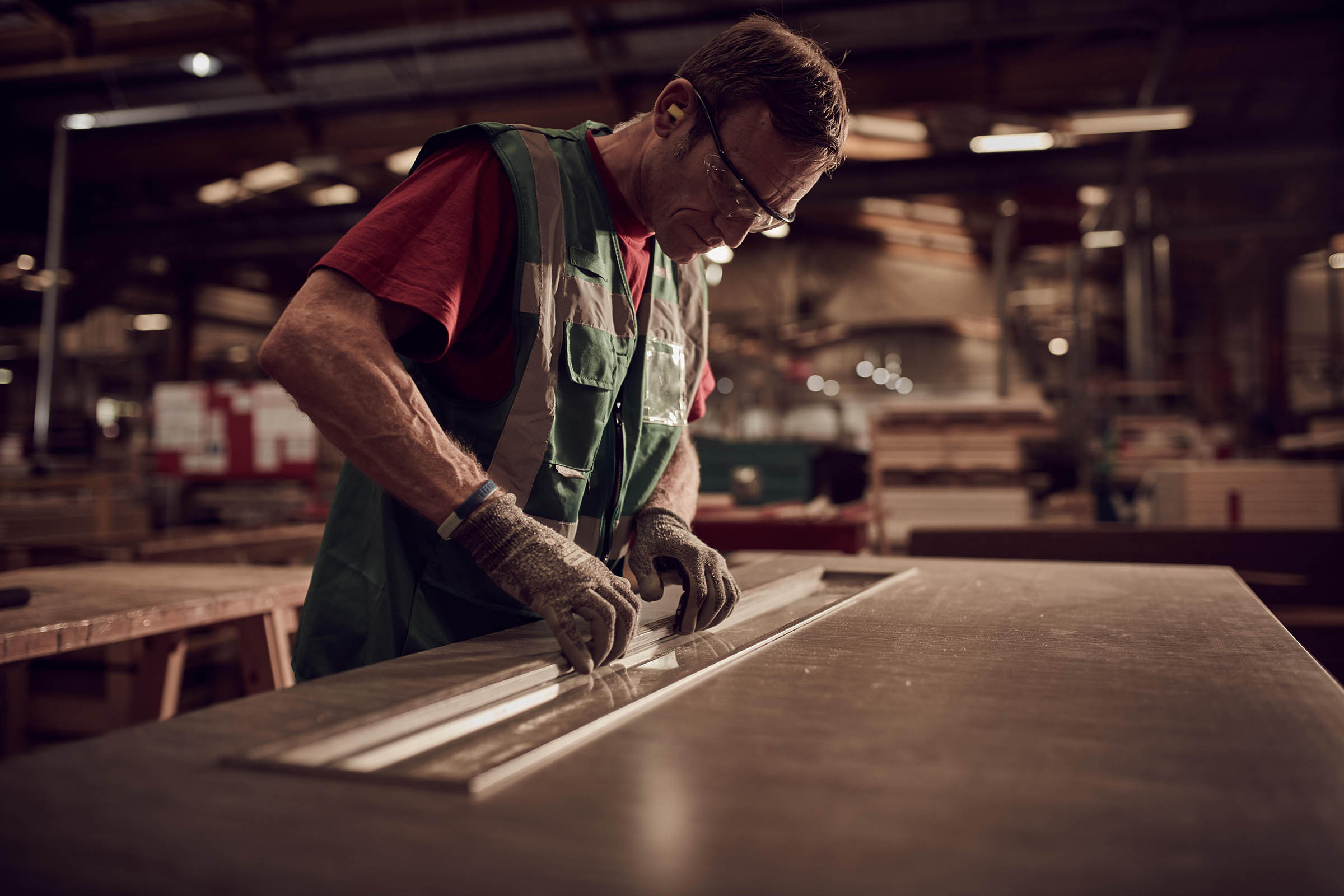 Premdor Factory Workers Creating Bespoke Joinery